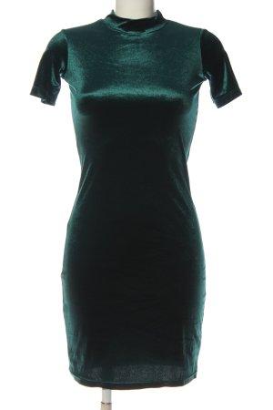 Zara Trafaluc Kurzarmkleid grün Casual-Look