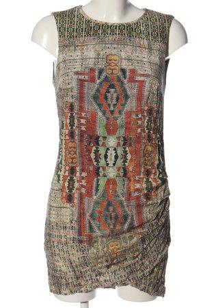 Zara Trafaluc Minikleid abstraktes Muster Casual-Look