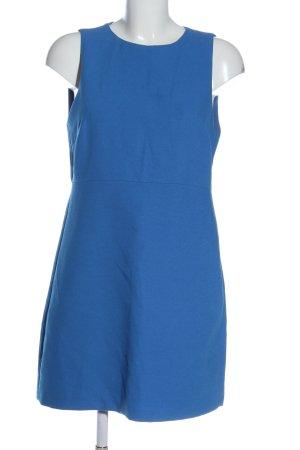 Zara Trafaluc Minikleid blau Casual-Look