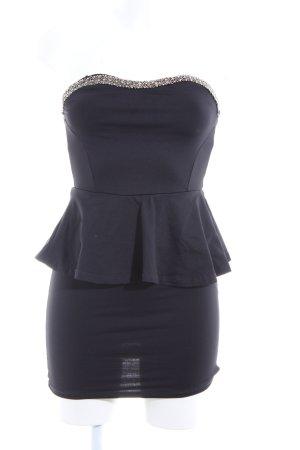 Zara Trafaluc Minikleid schwarz Casual-Look