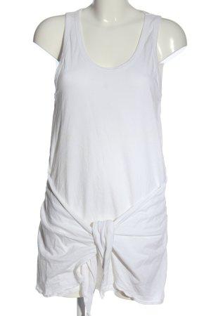 Zara Trafaluc Sukienka mini biały Elegancki