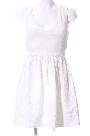 Zara Trafaluc Minikleid weiß Elegant