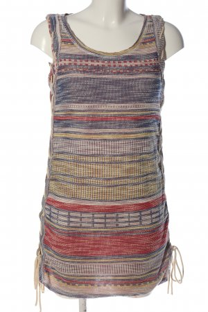 Zara Trafaluc Minikleid Streifenmuster Casual-Look