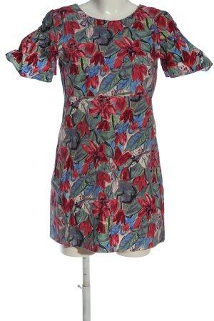 Zara Trafaluc Minikleid abstraktes Muster Elegant