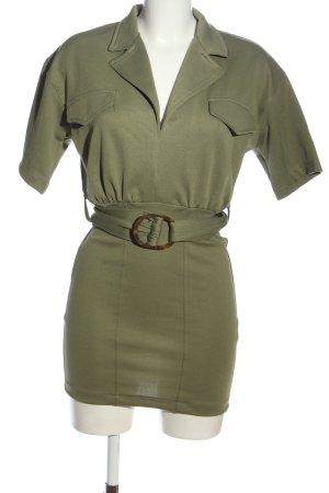 Zara Trafaluc Minikleid khaki Casual-Look