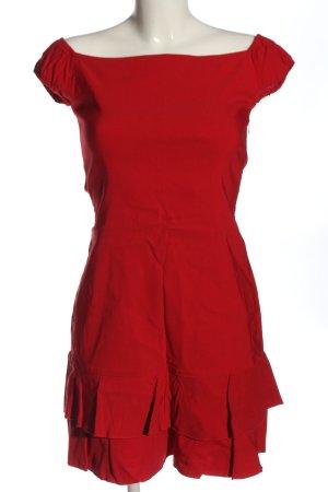 Zara Trafaluc Sukienka mini czerwony Elegancki