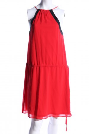 Zara Trafaluc Sukienka mini czerwony-czarny W stylu casual