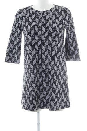 Zara Trafaluc Robe courte noir-gris clair style décontracté