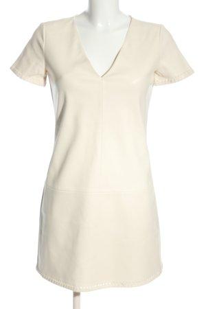 Zara Trafaluc Minikleid weiß Casual-Look