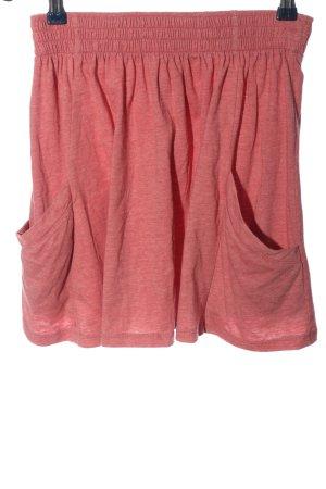 Zara Trafaluc Mini rok roze casual uitstraling