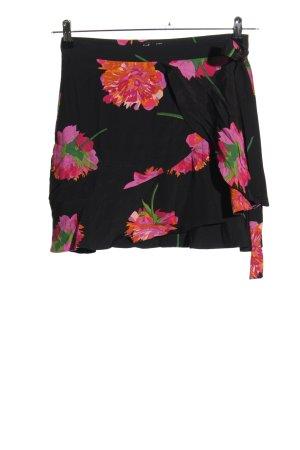 Zara Trafaluc Mini rok volledige print casual uitstraling