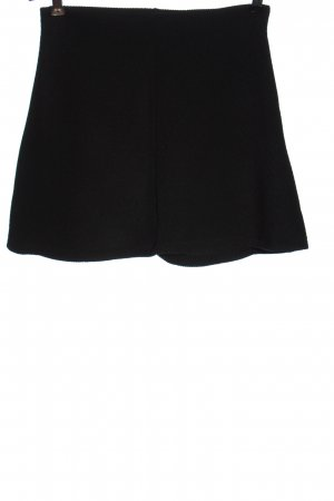 Zara Trafaluc Minifalda negro elegante