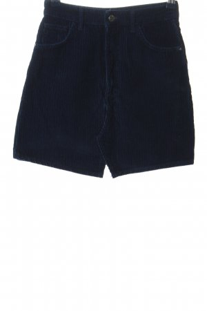 Zara Trafaluc Mini rok blauw casual uitstraling