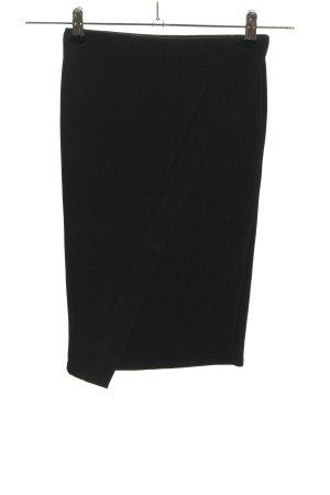 Zara Trafaluc Spódnica midi czarny W stylu biznesowym