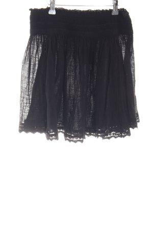 Zara Trafaluc Schlupf-Bluse schwarz Casual-Look