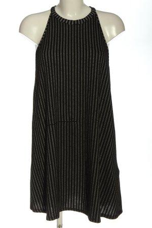 Zara Trafaluc Neckholderkleid schwarz-weiß Allover-Druck Casual-Look