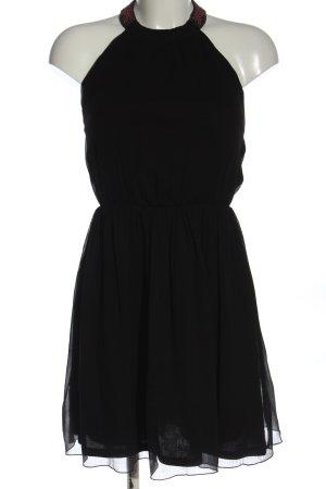 Zara Trafaluc Halter Dress black party style