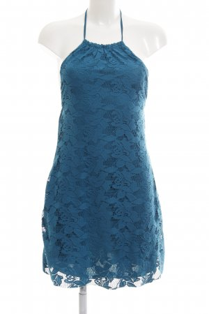 Zara Trafaluc Neckholdertop blau Casual-Look