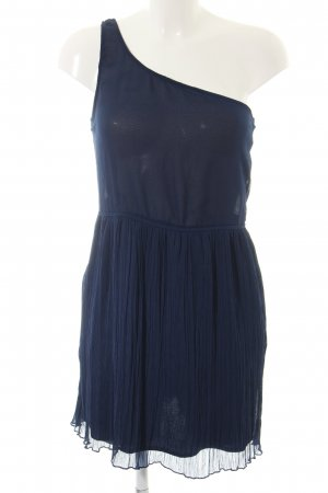 Zara Trafaluc One Shoulder Dress blue elegant