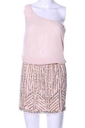 Zara Trafaluc One-Shoulder-Kleid pink Elegant