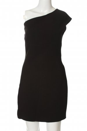 Zara Trafaluc One Shoulder Dress black elegant