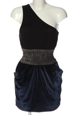 Zara Trafaluc Abito monospalla blu elegante