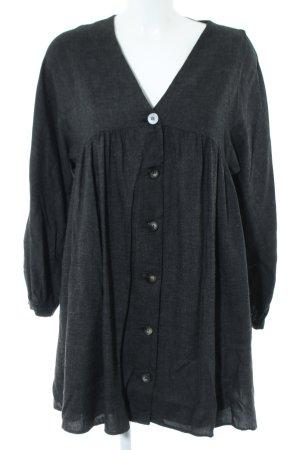 Zara Trafaluc Oversized Bluse schwarz Casual-Look