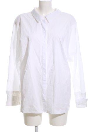 Zara Trafaluc Oversized blouse wit zakelijke stijl
