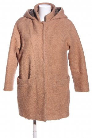Zara Trafaluc Oversized Mantel braun Casual-Look
