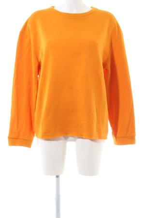 Zara Trafaluc Oversized Pullover hellorange Casual-Look