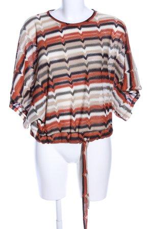 Zara Trafaluc Oversized Pullover Streifenmuster Casual-Look