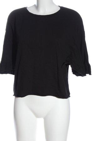 Zara Trafaluc Oversized Shirt black casual look