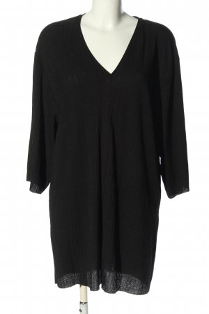 Zara Trafaluc Oversized Shirt schwarz Casual-Look