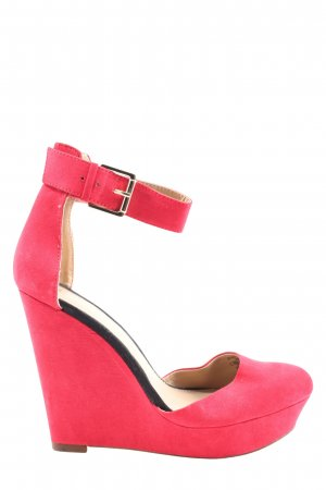 Zara Trafaluc Plateau-Pumps pink Casual-Look