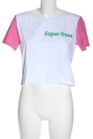 Zara Trafaluc Print-Shirt mehrfarbig Casual-Look