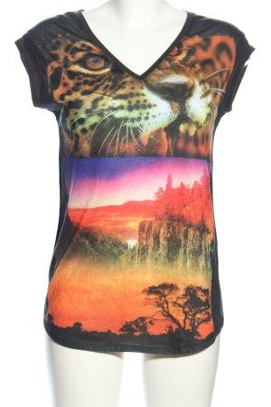 Zara Trafaluc Print-Shirt Motivdruck Casual-Look