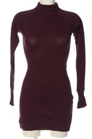 Zara Trafaluc Pulloverkleid rot Casual-Look