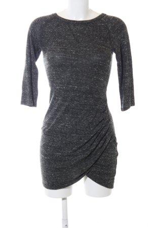 Zara Trafaluc Pulloverkleid schwarz meliert Casual-Look