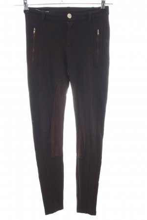Zara Trafaluc Pantalone da equitazione marrone stile casual