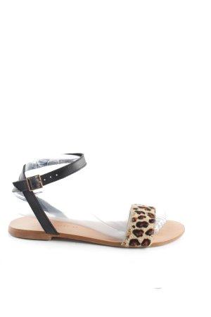 Zara Trafaluc Sandalo con cinturino Stampa leopardata stile casual