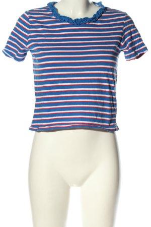 Zara Trafaluc T-shirt rayé motif rayé style décontracté