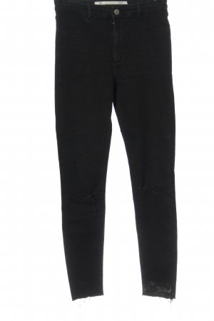 Zara Trafaluc Jeans a sigaretta nero stile casual