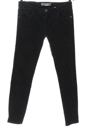 Zara Trafaluc Jeans cigarette noir style décontracté