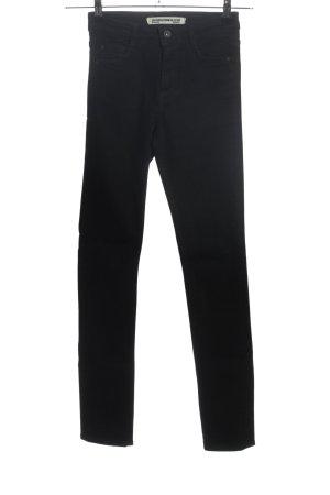 Zara Trafaluc Jeansy rurki czarny W stylu casual