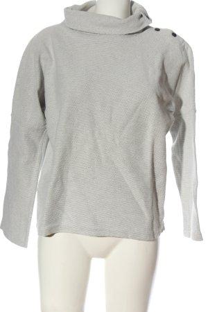 Zara Trafaluc Jersey de cuello alto gris claro look casual