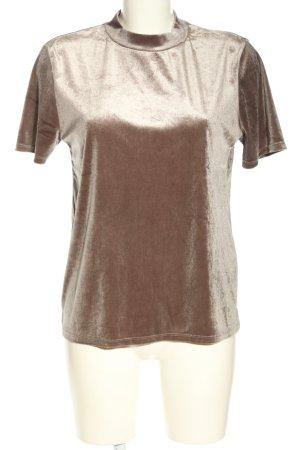 Zara Trafaluc Maglia a collo alto marrone stile casual