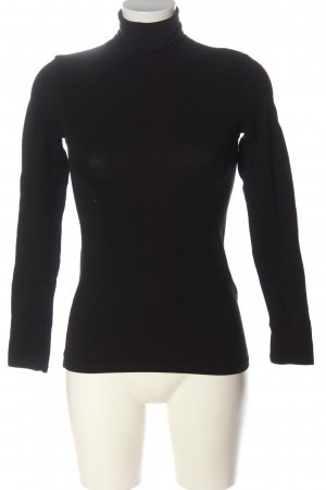 Zara Trafaluc Maglia a collo alto nero stile casual