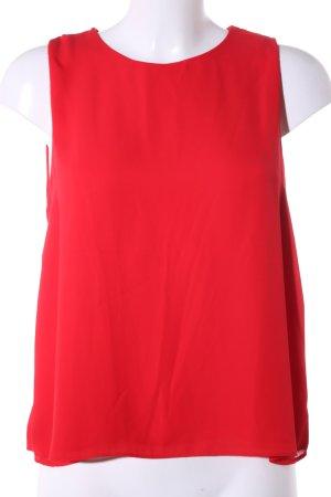 Zara Trafaluc Schlupf-Bluse rot Business-Look