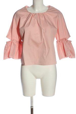 Zara Trafaluc Schlupf-Bluse pink Elegant