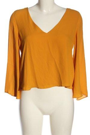 Zara Trafaluc Blouse à enfiler orange clair style extravagant